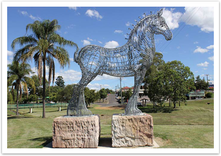 Boonah-Statue