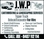 JWP Earthmoving and Landscaping